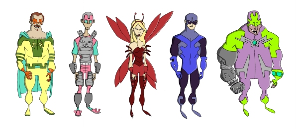 superheroandvillain_lineup